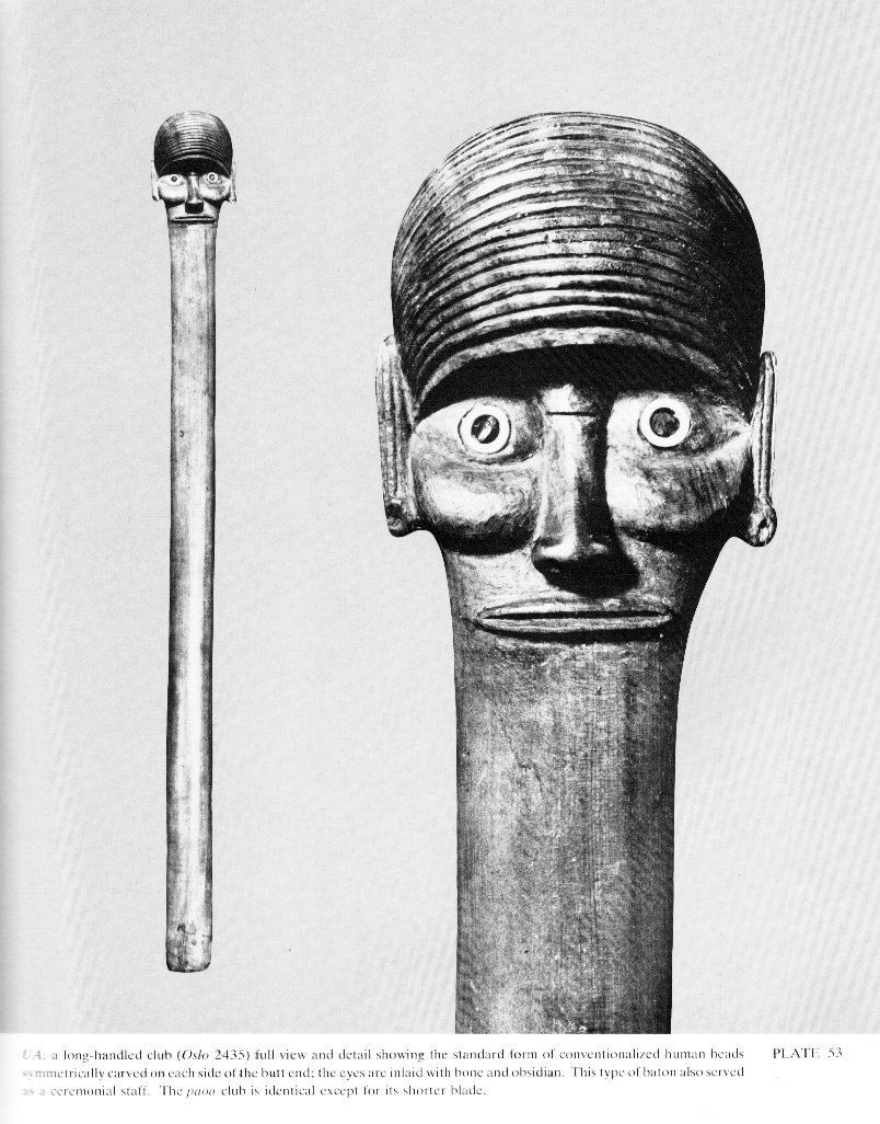 01c12db9 Man armed with a war club; the guardians of the tribe holding the term of  office (ao). 3. To splint a broken limb. Vanaga.